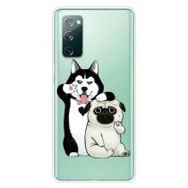 RMPACK Samsung Galaxy S20 FE Mintás Szilikon Tok TPU New Uniqueness NU15