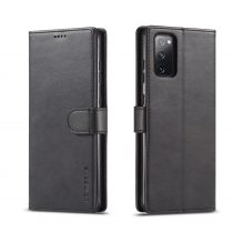 RMPACK Samsung Galaxy S20 FE Business IMEEKE Notesz Tok Prémium Fekete