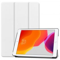 RMPACK iPad 10.2 (2020) (2019) Tok Tri-Fold Series Kitámasztható Fehér