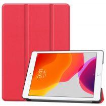 RMPACK iPad 10.2 (2020) (2019) Tok Tri-Fold Series Kitámasztható Piros