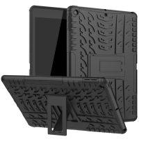RMPACK iPad 10.2 (2020) (2019) Tok Ütésállókivitel Kitámasztható Tyre Series 2in1 Fekete