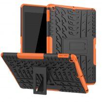 RMPACK iPad 10.2 (2020) (2019) Tok Ütésállókivitel Kitámasztható Tyre Series 2in1 Narancssárga