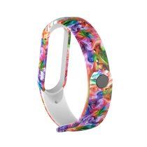 RMPACK Xiaomi Mi Band 5 Pótszíj Mintás Óraszíj TPU Colorful Style CS20