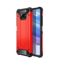 RMPACK Xiaomi Poco X3 Ütésálló Armor Tok Guard Series 2in1 Piros