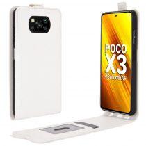 RMPACK Xiaomi Poco X3 Flip Tok Mágneses Fehér