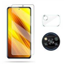RMPACK Xiaomi Poco X3 Üvegfólia + Kamera Lencsevédő 2.5 9H