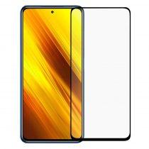 RMPACK Xiaomi Poco X3 Kijelzővédő Üvegfólia Tempered Glass -Full Size-