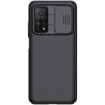RMPACK Xiaomi Mi 10T 5G / Mi 10T Pro 5G Tok Nillkin CamShield Fekete