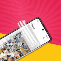 RMPACK Huawei P Smart 2021 Kijelzővédő Fólia TPU Öngyógyuló Self-repair