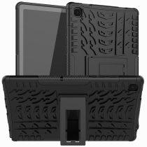 RMPACK Samsung Galaxy TAB A7 Ütésálló Tok 10.4 T500 T505 Kitámasztható 2in1 Hybrid Fekete