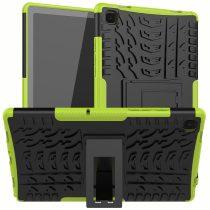 RMPACK Samsung Galaxy TAB A7 Ütésálló Tok 10.4 T500 T505 Kitámasztható 2in1 Hybrid Zöld