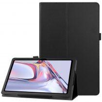 RMPACK Samsung Galaxy TAB A7 Notesz Tok 10.4 T500 T505 Kitámasztható-Keretvédelemmel Fekete