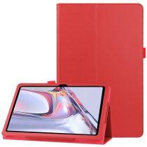 RMPACK Samsung Galaxy TAB A7 Notesz Tok 10.4 T500 T505 Kitámasztható-Keretvédelemmel Piros