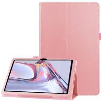 RMPACK Samsung Galaxy TAB A7 Notesz Tok 10.4 T500 T505 Kitámasztható-Keretvédelemmel Rózsaszín