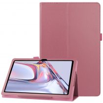 RMPACK Samsung Galaxy TAB A7 Notesz Tok 10.4 T500 T505 Kitámasztható-Keretvédelemmel Pink