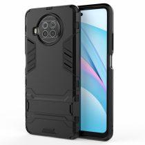 RMPACK Xiaomi Mi 10T Lite 5G Tok 2in1 Ütésálló - Kitámasztható TPU Hybrid Fekete