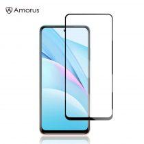 AMORUS Xiaomi Mi 10T Lite 5G Tempered Glass Üvegfólia -FullSize- Kijelzővédő