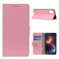 RMPACK Xiaomi Poco M3 Notesz Tok Kitámasztható Bankkártyatartóval Rózsaszín