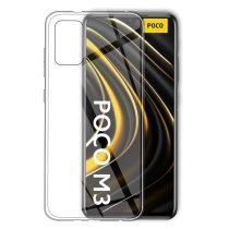 RMPACK Xiaomi Poco M3 Szilikon Tok TPU Flexible Védőtok Áttetsző