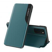 RMPACK Samsung Galaxy A32 5G Notesz Tok Ablakos View Window Series Kitámasztható Zöld