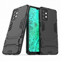RMPACK Samsung Galaxy A32 5G Tok 2in1 Ütésálló - Kitámasztható TPU Hybrid Fekete