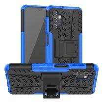 RMPACK Samsung Galaxy A32 5G Ütésálló Tok Kitámasztható 2in1 Hybrid Kék