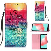 RMPACK Samsung Galaxy A32 5G Notesz Tok Mintás Kitámasztható - Kártyatartóval Colorful Series A05