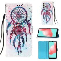 RMPACK Samsung Galaxy A32 5G Notesz Tok Mintás Kitámasztható - Kártyatartóval Colorful Series A06