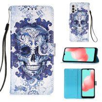 RMPACK Samsung Galaxy A32 5G Notesz Tok Mintás Kitámasztható - Kártyatartóval Colorful Series A07