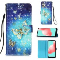 RMPACK Samsung Galaxy A32 5G Notesz Tok Mintás Kitámasztható - Kártyatartóval Colorful Series A10