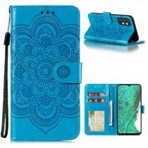 RMPACK Samsung Galaxy A32 5G Notesz Tok Mandala Mintás Kártyartóval- Kitámasztható Kék