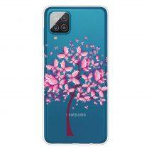 RMPACK Samsung Galaxy A12 Szilikon Tok Mintás Colorful Series A02