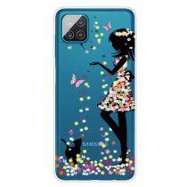 RMPACK Samsung Galaxy A12 Szilikon Tok Mintás Colorful Series A07