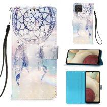 RMPACK Samsung Galaxy A12 Notesz Tok Mintás Kitámasztható - Kártyatartóval Colorful Series A08