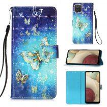 RMPACK Samsung Galaxy A12 Notesz Tok Mintás Kitámasztható - Kártyatartóval Colorful Series A09
