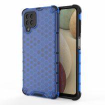 RMPACK Samsung Galaxy A12 Ütésállókivitel Szilikon Tok Honeycomb Shock-Proof TPU Kék