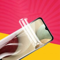 RMPACK Samsung Galaxy A12 Képernyővédő Fólia Hydro Full Öngyógyító Self-repair