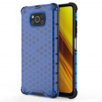 Xiaomi Poco X3 NFC Tok Ütésálló Honeycomb Case Armor Kék