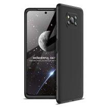 Xiaomi Poco X3 NFC Ütésálló Tok GKK 3in1 Full Protection Fekete