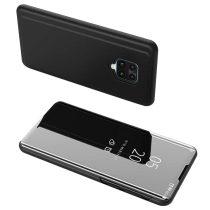 Huawei Honor 9 Lite Notesz Tok Clear View - Hívás mutató funkcióval Fekete