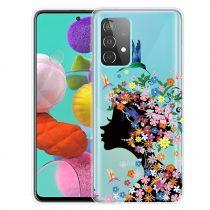 RMPACK Samsung Galaxy A52 5G Szilikon Tok Mintás Colorful Style A02