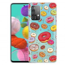 RMPACK Samsung Galaxy A52 5G Szilikon Tok Mintás Colorful Style A05