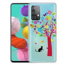 RMPACK Samsung Galaxy A52 5G Szilikon Tok Mintás Colorful Style A06