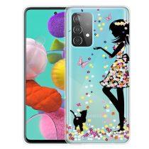RMPACK Samsung Galaxy A52 5G Szilikon Tok Mintás Colorful Style A08