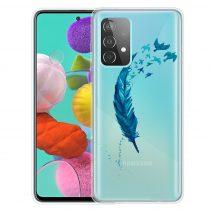 RMPACK Samsung Galaxy A52 5G Szilikon Tok Mintás Colorful Style A09