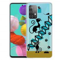 RMPACK Samsung Galaxy A52 5G Szilikon Tok Mintás Colorful Style A11