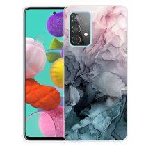 RMPACK Samsung Galaxy A52 5G Szilikon Tok Mintás Marble Style A02