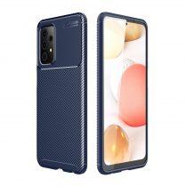 RMPACK Samsung Galaxy A52 5G Tok Szilikon TPU NEW Carbon Fiber - Karbon Minta Sötétkék