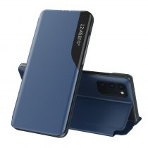 RMPACK Samsung Galaxy A52 5G Notesz Tok Ablakos View Window Series Kitámasztható Kék