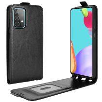 RMPACK Samsung Galaxy A52 5G Flip Tok Kártyatartóval Mágneses Fekete